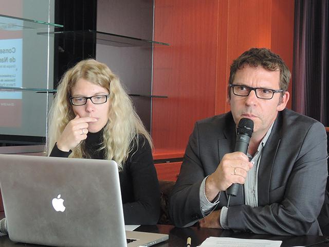 Patrick Pailloux et Cécile Michaut