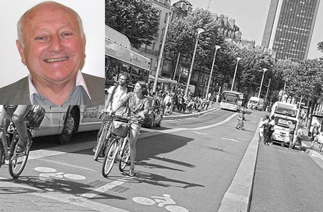 transport tramway, vélo, piéton cours des 50 otages