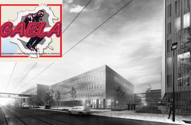Perspective. Futur Centre Hospitalier Universitaire (CHU). Architectes : Art & Build Architecte/Pargade. Maitrise d'ouvrage: CHU de Nantes. Nantes (Loire-Atlantique) © Art & Build Architecte/Pargade/Samoa